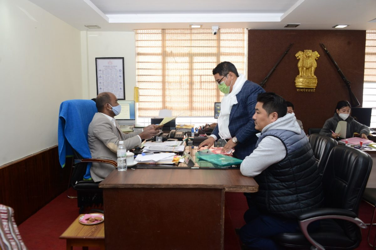 Twenty-seven candidates file their nominations for Municipal Election 2021 East Sikkim