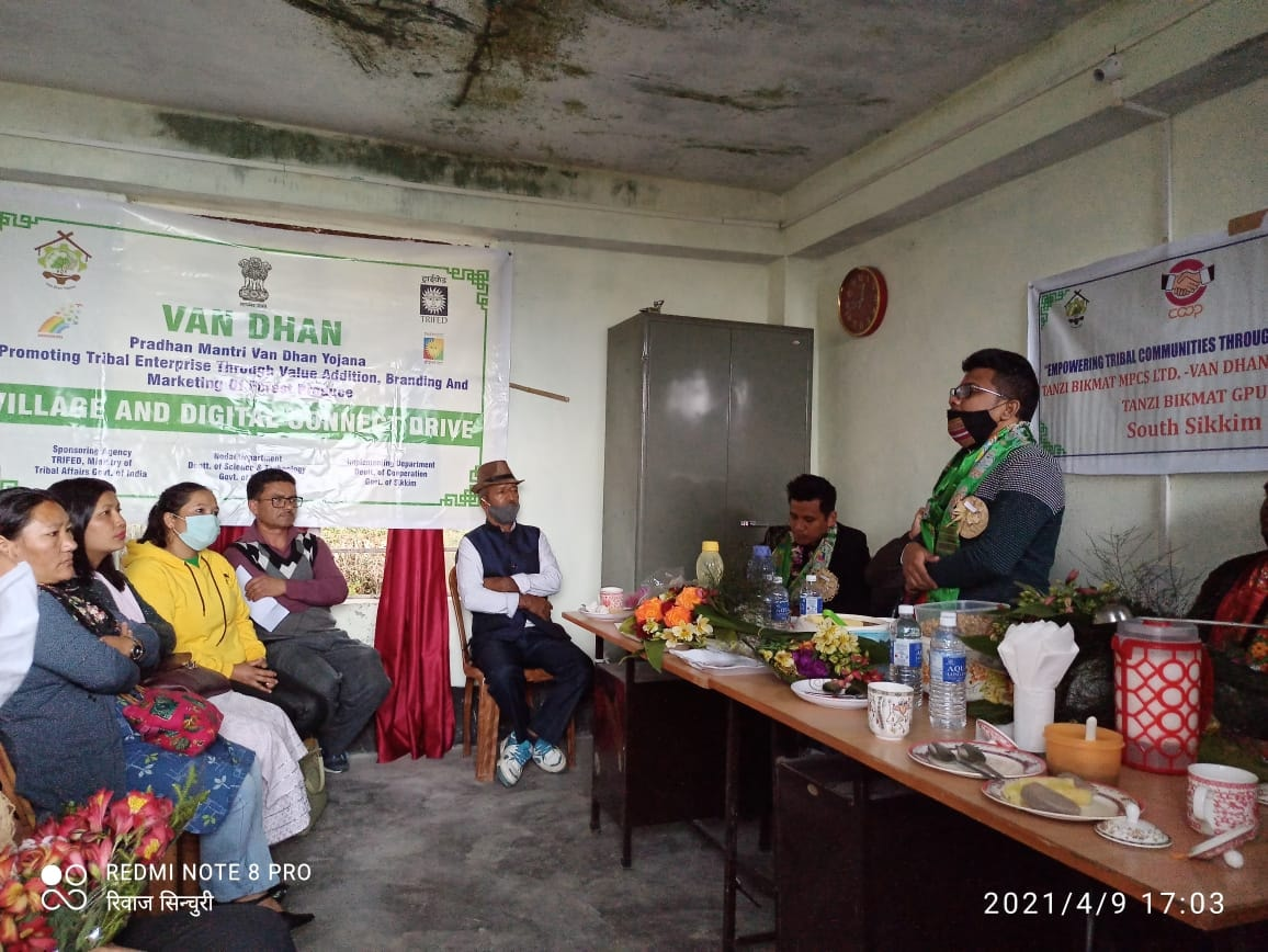 Village and Digital Connect Drive conducted in Namchi Sub Division