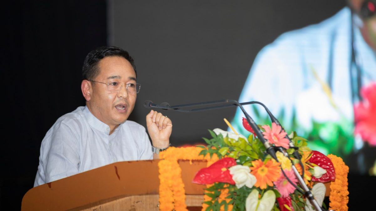 The Hon'ble Chief Minister attends Civil Services Day 2021