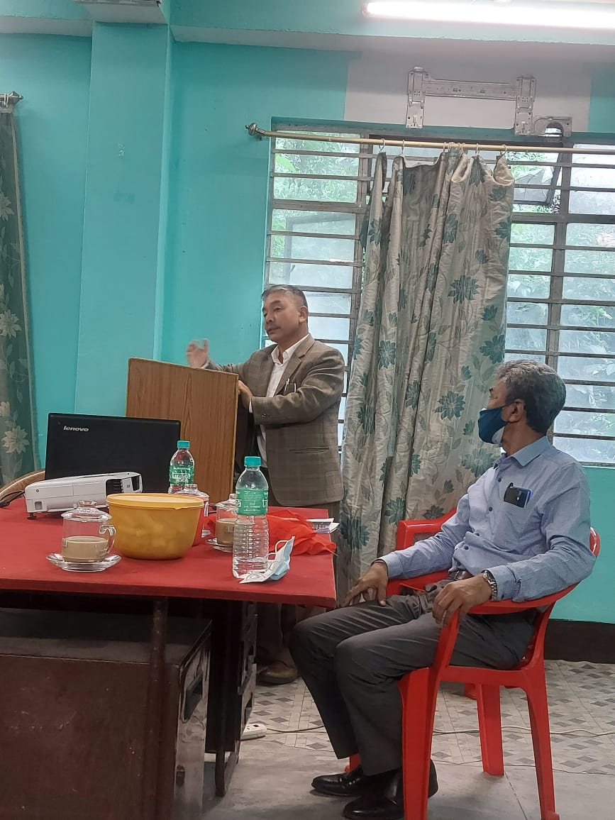 A meeting of District Health Mission was conducted at District Hospital Singtam