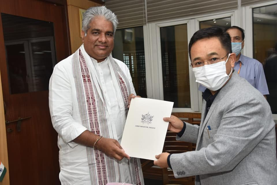 Hon'ble Chief Minister called on the Hon'ble Union Minister for Labour & Employment, Environment, Forest & Climate