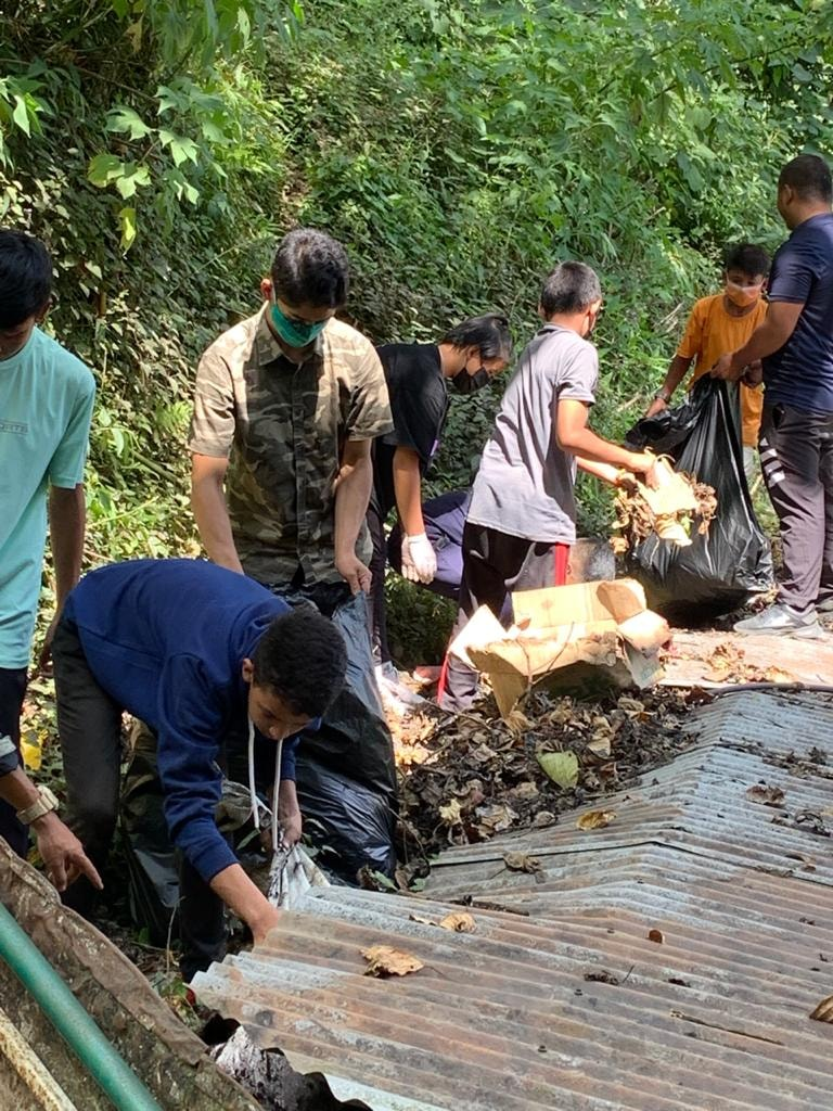 A cleanliness drive