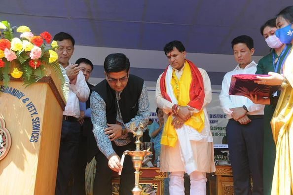 District level Livestock Show under Implementation of Sub-Mission on Skill Development